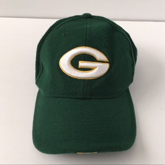 2c372e44 Nike Green Bay Packers NFL Green Fitted Hat 6 7/8